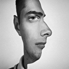 yarım-adam-yüzü