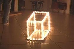 sihirli ateş illüzyonu